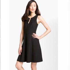 Theory 'Etiara' tailor V-neck dress
